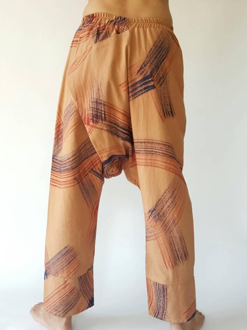 Elastic waist pants Unisex pants in color brush HR0121 Men Fashion Pants