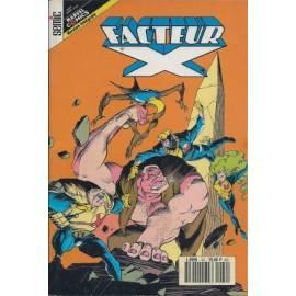 Facteur X 22 -  Editions Lug - Semic-