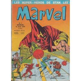 Marvel 01 -  Editions Lug - Semic-