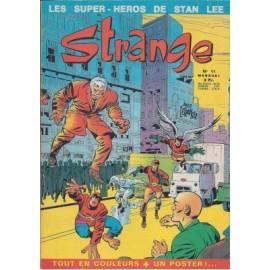 Strange 011 avec poster -  Editions Lug - Semic-