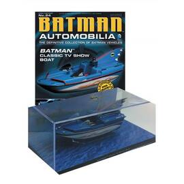 Batman Automobilia Eaglemoss 24 Batboat-