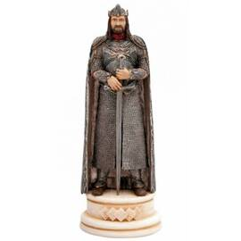 Eaglemoss Lord of the rings chess 01 Aragorn white king-