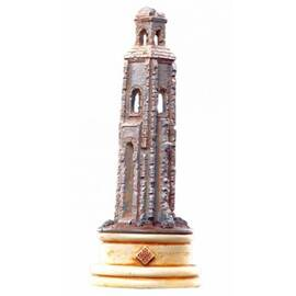 Eaglemoss Lord of the rings chess 13 Osgiliath white rook-