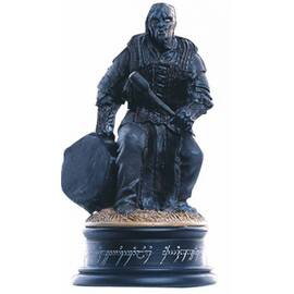 Eaglemoss Lord of the rings chess 20 Orc drummer black pawn-