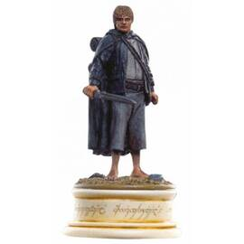Eaglemoss Lord of the rings chess 21 Sam white pawn-