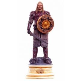 Eaglemoss Lord of the rings chess 23 Eormer white king-