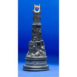 Eaglemoss Lord of the rings chess 26 Barad-Dur black rook-
