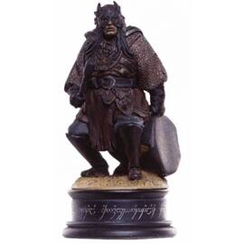 Eaglemoss Lord of the rings chess 28 orc drummer black pawn-