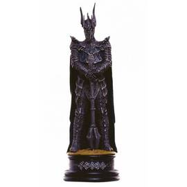 Eaglemoss Lord of the rings chess 32 Sauron black king-