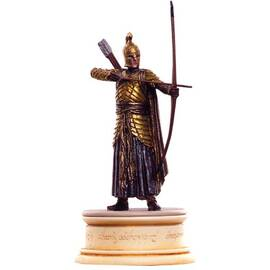 Eaglemoss Lord of the rings chess 50 Elven archer white pawn-
