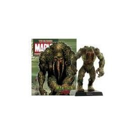 Eaglemoss Marvel Comics Special Man-thing with magazine and poster-