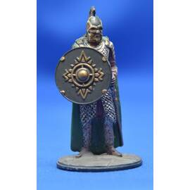 Lord of the rings Eaglemoss 008  Rohan Soldier at the Battle of Helm's Deep-
