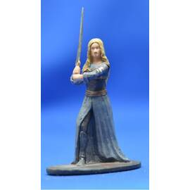 Lord of the rings Eaglemoss 024  Eowyn at Edoras-