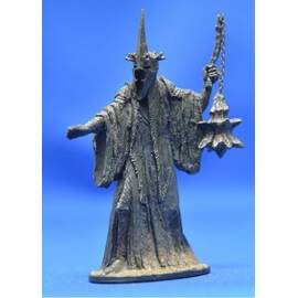 Lord of the rings Eaglemoss 027 Angmar - The Witch King at Pelennor Fields-