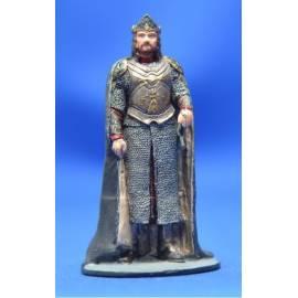 Lord of the rings Eaglemoss 028 King Elessar at Minas Tirith-