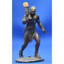 Lord of the rings Eaglemoss 035  Beserker Uruk-Hai at Helms Deep-
