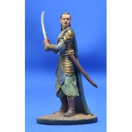 Lord of the rings Eaglemoss 056  Elrond at the Dagorlad Plains-