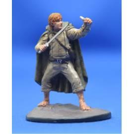 Lord of the rings Eaglemoss 064  Sam at Cirith Ungol-