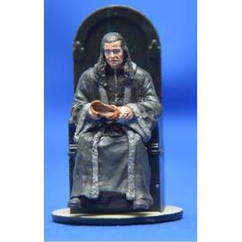 Lord of the rings Eaglemoss 067  Denethor at the Court of Minas Tirith-