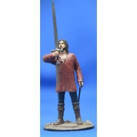 Lord of the rings Eaglemoss 078 Aragorn at Dunharrow-
