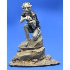 Lord of the rings Eaglemoss 095  Gollum in the Misty Mountains Caves-
