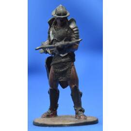 Lord of the rings Eaglemoss 107 Uruk-Hai Invader with Crossbow at Helms Deep-