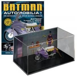 Batman Automobilia Eaglemoss 33 TV series Batcycle-