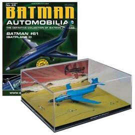 Batman Automobilia Eaglemoss 45 BATMAN #61 (BATPLANE II)-