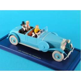 En Voiture Tintin Atlas 05 Lincoln Torpedo (Les cigares du pharaon)-