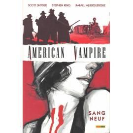 American Vampire 01: Sang neuf - Panini Comics-