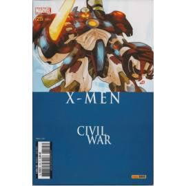 X-men V1 125 Civil War - Panini Comics-