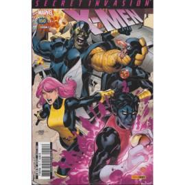 X-men V1 150 Secret Invasion 3/3 avec portfolio - Panini Comics-