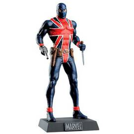 Eaglemoss Marvel Comics 107 Union Jack-