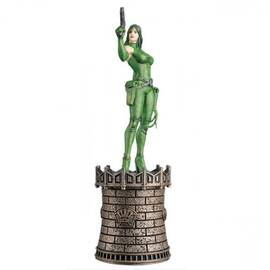 Marvel Chess Eaglemoss 22 Viper (Black Queen)-