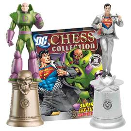 DC Chess Eaglemoss Special Superman and Lex Luthor-
