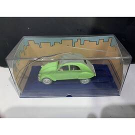 En Voiture Tintin Atlas 06 Citroen 2cv (L'affaire Tournesol)-