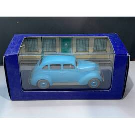 En Voiture Tintin Atlas 25 Taxi bleu-