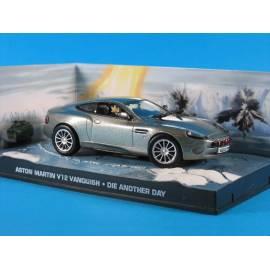 James Bond 02 Aston Martin V10 Vanquish Eaglemoss Collection Cars-