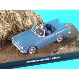 James Bond 18: SUNBEAM ALPINE (Dr NO)  Eaglemoss Collection Cars-