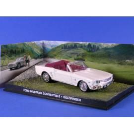 James Bond 35: FORD MUSTANG (GOLDFINGER) Eaglemoss Collection Cars-