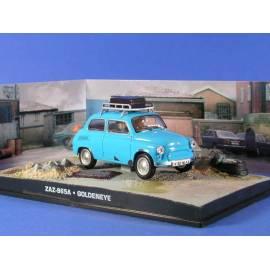 James Bond 36: ZAZ 965A (GOLDENEYE) Eaglemoss Collection Cars-