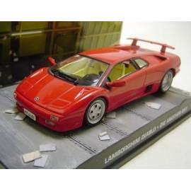 James Bond 39: LAMBORGHINI Diablo  Eaglemoss Collection Cars-