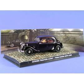 James Bond 40: CITROËN Traction Avant Légère'54  Eaglemoss Collection Cars-