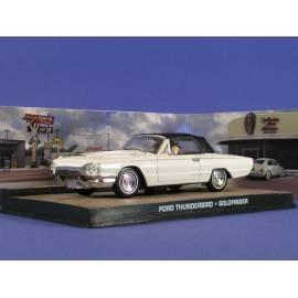 James Bond 42: FORD THUNDERBIRD (GOLDFINGER) Eaglemoss Collection Cars-