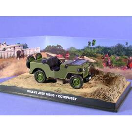 James Bond 46: JEEP WILLYS (OCTOPUSSY) Eaglemoss Collection Cars-