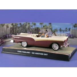 James Bond 47: FORD FAIRLANE SKYLINER'57 Eaglemoss Collection Cars-