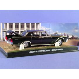 James Bond 48: LINCOLN CONTINENTAL 1964 CONVERTIBLE (GOLDFINGER) Eaglemoss Collection Cars-