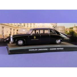 James Bond 49: DAIMLER LIMOUSINE DS 420 (CASINO ROYALE) Eaglemoss Collection Cars-