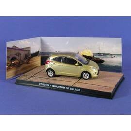 James Bond 60: FORD KA (QUANTUM OF SOLACE) Eaglemoss Collection Cars-