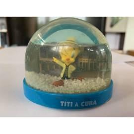 Boule de neige Looney Tunes Tweety à Cuba Édition Atlas-
